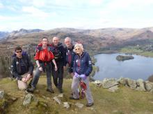 Group of poeple on the fells