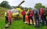 Handover to Helimed