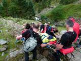 Stretcher carry from Stickle Ghyll